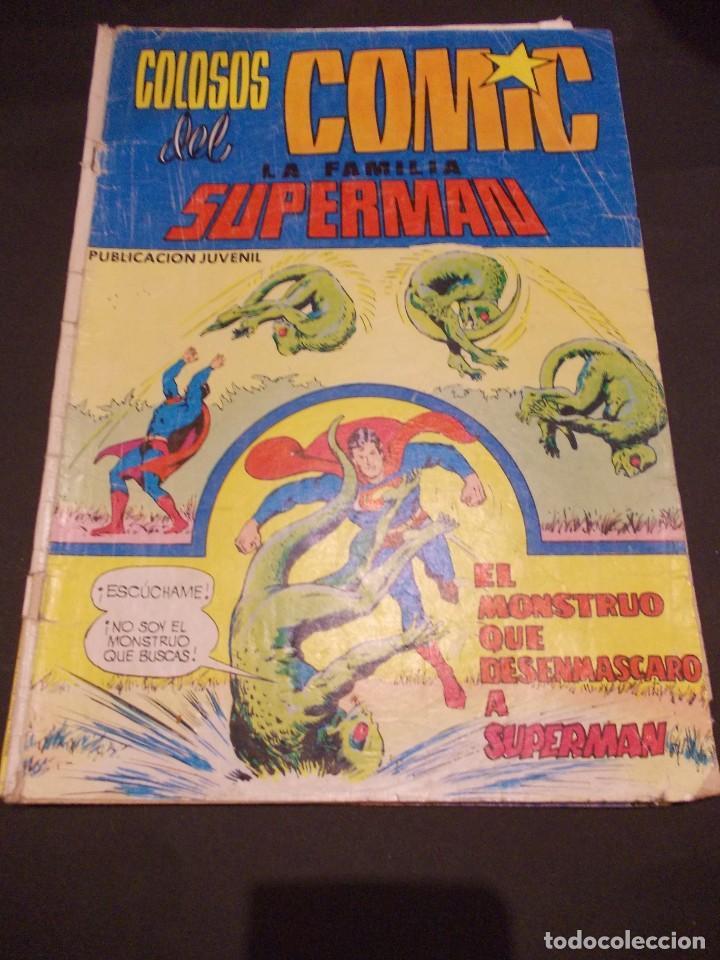 COLOSOS DEL COMIC LA FAMILIA SUPERMAN Nº 11ED. VALENCIANA 1979 (Tebeos y Comics - Valenciana - Colosos del Comic)