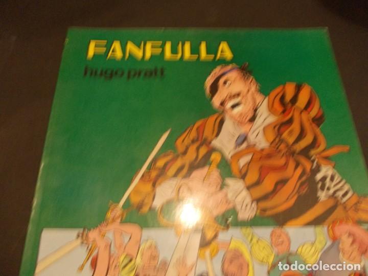 COMIC FANFULLA HUGO PRATT FEBRERO 1983 EDITORIAL VALENCIANA (Tebeos y Comics - Valenciana - Otros)