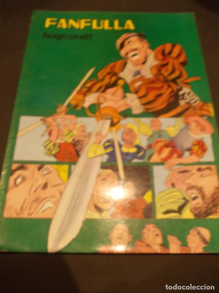 Tebeos: Comic Fanfulla Hugo Pratt febrero 1983 editorial Valenciana - Foto 2 - 229387920
