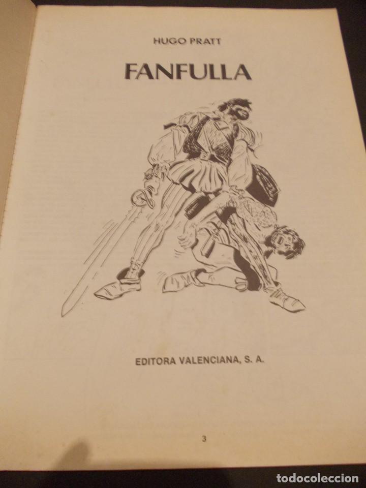 Tebeos: Comic Fanfulla Hugo Pratt febrero 1983 editorial Valenciana - Foto 3 - 229387920
