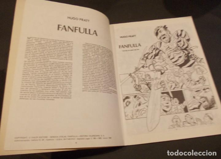 Tebeos: Comic Fanfulla Hugo Pratt febrero 1983 editorial Valenciana - Foto 4 - 229387920