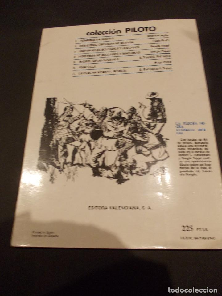 Tebeos: Comic Fanfulla Hugo Pratt febrero 1983 editorial Valenciana - Foto 6 - 229387920