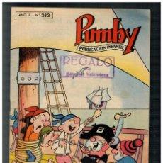 BDs: PUMBY Nº 282 VALENCIANA. ORIGINAL. MUY BUENO.. Lote 229431545