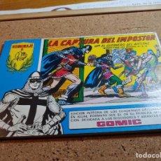 Tebeos: COMIC DEL GUERRERO DEL ANTIFAZ CUADERNILLO Nº 50 DEL AÑO 1982 REEDICIÓN. Lote 229500325
