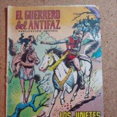 Tebeos: COMIC DEL GUERRERO DEL ANTIFAZ EN LOS JINETES NEGROS DEL AÑO 1972 Nº 18. Lote 229510980