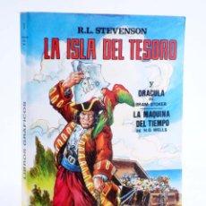 Tebeos: LIBROS GRÁFICOS TOMO 1. ISLA DEL TESORO / DRÁCULA / MÁQUINA DEL TIEMPO (VVAA) EDIPRINT, 1983. OFRT. Lote 237012795