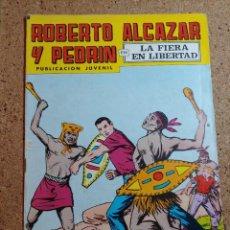 Tebeos: COMIC DE ROBERTO ALCAZAR Y PEDRIN EN LA FIERA EN LIBERTAD Nº 168. Lote 229815125