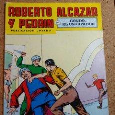 Tebeos: COMIC DE ROBERTO ALCAZAR Y PEDRIN EN GORDO EL USURPADOR Nº 167. Lote 229815300