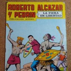 Tebeos: COMIC DE ROBERTO ALCAZAR Y PEDRIN EN LA FIERA EN LIBERTAD Nº 168. Lote 229815490