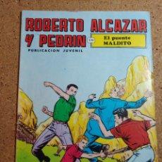 Tebeos: COMIC DE ROBERTO ALCAZAR Y PEDRIN EN EL PUENTE MALDITO Nº 86. Lote 229817200