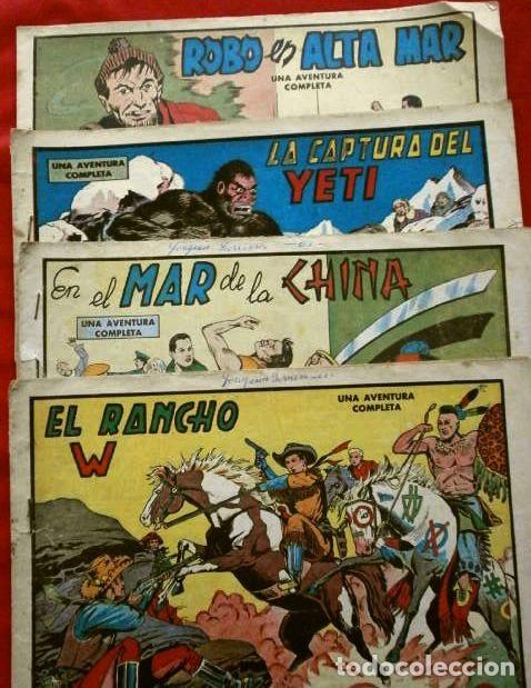 Tebeos: 9 NUMEROS - ROBERTO ALCAZAR Y PEDRIN - LOTE 9 comics ORIGINALES DE 1961 A 1963 - ED. VALENCIANA - Foto 3 - 230227385
