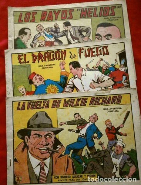Tebeos: 9 NUMEROS - ROBERTO ALCAZAR Y PEDRIN - LOTE 9 comics ORIGINALES DE 1961 A 1963 - ED. VALENCIANA - Foto 4 - 230227385