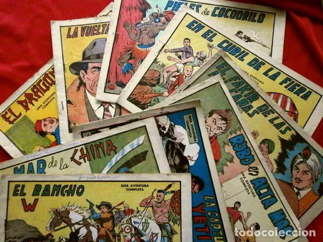 Tebeos: 9 NUMEROS - ROBERTO ALCAZAR Y PEDRIN - LOTE 9 comics ORIGINALES DE 1961 A 1963 - ED. VALENCIANA - Foto 5 - 230227385