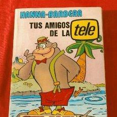 Tebeos: LOTE 5 NÚMEROS EN UN SOLO TOMO (SUPER ALBUM) TUS AMIGOS DE LA TELE TV - HANNA BARBERA - PICAPIEDRA. Lote 230229870