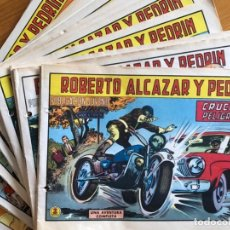 Tebeos: ROBERTO ALCAZAR Y PEDRIN- LOTE 23 EJEMPLARES CORRELATIVOS- 1969. Lote 230397365