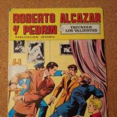 Tebeos: COMIC DE ROBERTO ALCAZAR Y PEDRIN EN TRIUNFAN LOS VALIENTES Nº 126. Lote 230662880