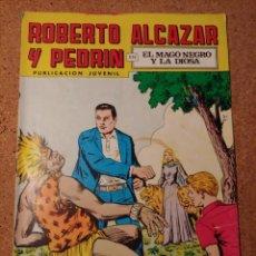 Tebeos: COMIC DE ROBERTO ALCAZAR Y PEDRIN EN EL MAGO NEGRO Y LA DIOSA Nº 135. Lote 230663325