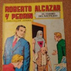 Tebeos: COMIC DE ROBERTO ALCAZAR Y PEDRIN EN EL TESORO DEL NAUFRAGIO Nº 136. Lote 230663550