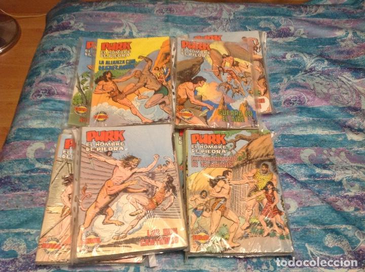 PURK COMPLETA 114 NUMEROS A COLOR MAS LOS 4 EXTRAS EDITORIAL VALENCIANA. (Tebeos y Comics - Valenciana - Purk, el Hombre de Piedra)