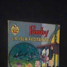 Tebeos: PUMBY PRESENTA LA ISLA FLOTANTE, LIBROS ILUSTRADOS PUMBY NUMERO 11, EDITORA VALENCIANA, AÑO 1969. Lote 231172700