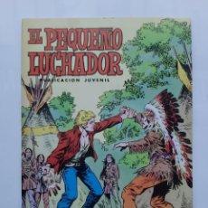 Tebeos: EL PEQUEÑO LUCHADOR Nº 14 LA REVUELTA DE LOS APACHES EDI. VALENCIANA. Lote 243362555