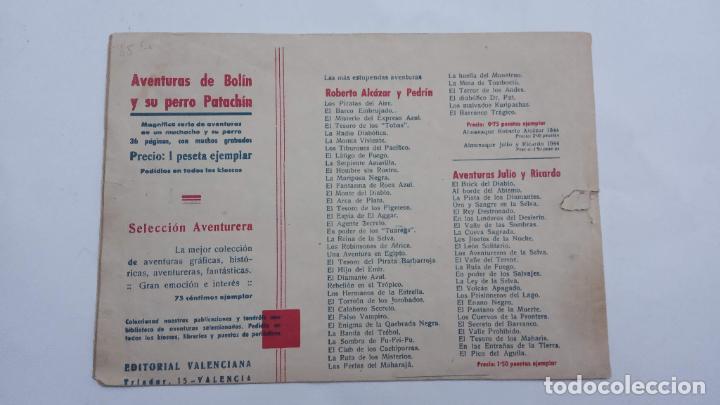 Tebeos: AVENTURAS DE JAIMITO Y PERIQUETE ORIGINAL Nº 11 - 1945 VALENCIANA - Foto 2 - 231614965