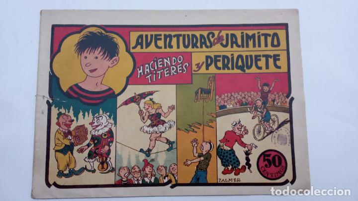 AVENTURAS DE JAIMITO Y PERIQUETE ORIGINAL Nº 11 - 1945 VALENCIANA (Tebeos y Comics - Valenciana - Jaimito)