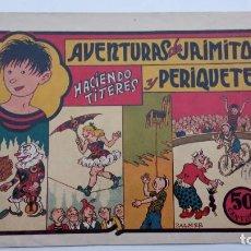 Tebeos: AVENTURAS DE JAIMITO Y PERIQUETE ORIGINAL Nº 11 - 1945 VALENCIANA. Lote 231614965