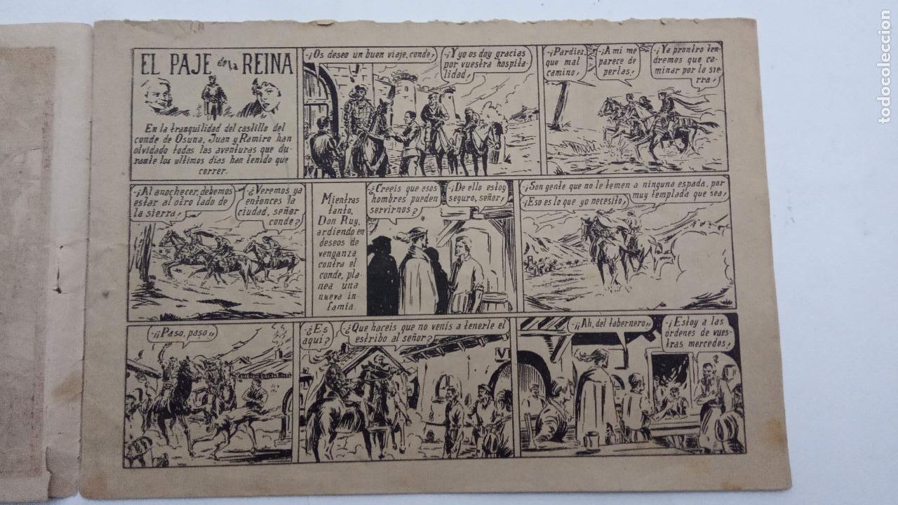 Tebeos: JUAN Y RAMIRO ORIGINAL Nº 2 - VALENCIANA 1944 DIBUJOS CLAUDIO TINOCO - Foto 3 - 231615645