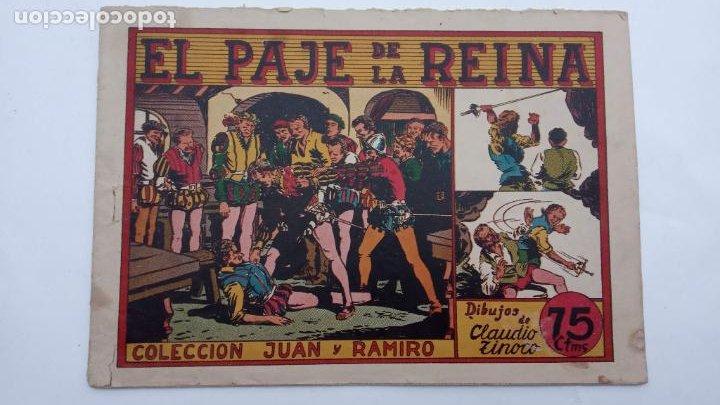 JUAN Y RAMIRO ORIGINAL Nº 2 - VALENCIANA 1944 DIBUJOS CLAUDIO TINOCO (Tebeos y Comics - Valenciana - Otros)