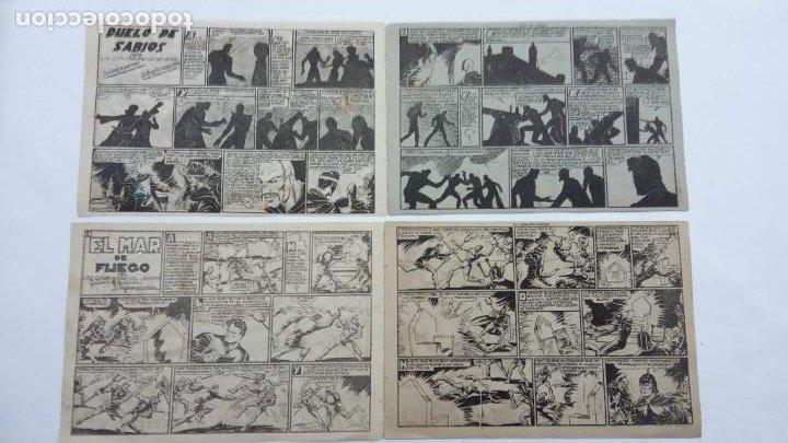 Tebeos: EXPLORADORES DEL UNIVERSO ORIGINALES NºS - 10 Y 16 - 1951 EDITORIAL VELENCIANA - Foto 2 - 231616030