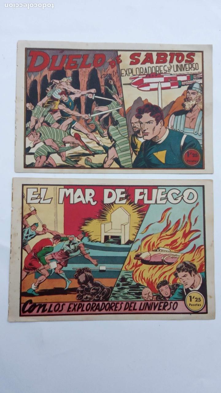EXPLORADORES DEL UNIVERSO ORIGINALES NºS - 10 Y 16 - 1951 EDITORIAL VELENCIANA (Tebeos y Comics - Valenciana - Otros)