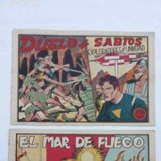 Tebeos: EXPLORADORES DEL UNIVERSO ORIGINALES NºS - 10 Y 16 - 1951 EDITORIAL VELENCIANA. Lote 231616030