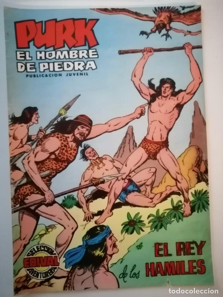 Tebeos: Lote 26 comics Purk el hombre de piedra.N° 2-5-8-10-12-13-15-16-24-29-30-35-44-47-55-59,del 61 al 70 - Foto 9 - 231958380