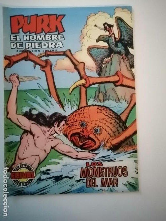Tebeos: Lote 26 comics Purk el hombre de piedra.N° 2-5-8-10-12-13-15-16-24-29-30-35-44-47-55-59,del 61 al 70 - Foto 11 - 231958380