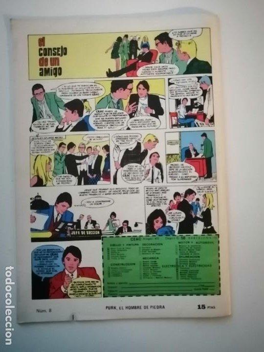 Tebeos: Lote 26 comics Purk el hombre de piedra.N° 2-5-8-10-12-13-15-16-24-29-30-35-44-47-55-59,del 61 al 70 - Foto 12 - 231958380