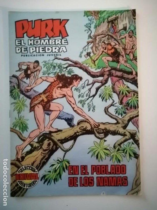 Tebeos: Lote 26 comics Purk el hombre de piedra.N° 2-5-8-10-12-13-15-16-24-29-30-35-44-47-55-59,del 61 al 70 - Foto 15 - 231958380