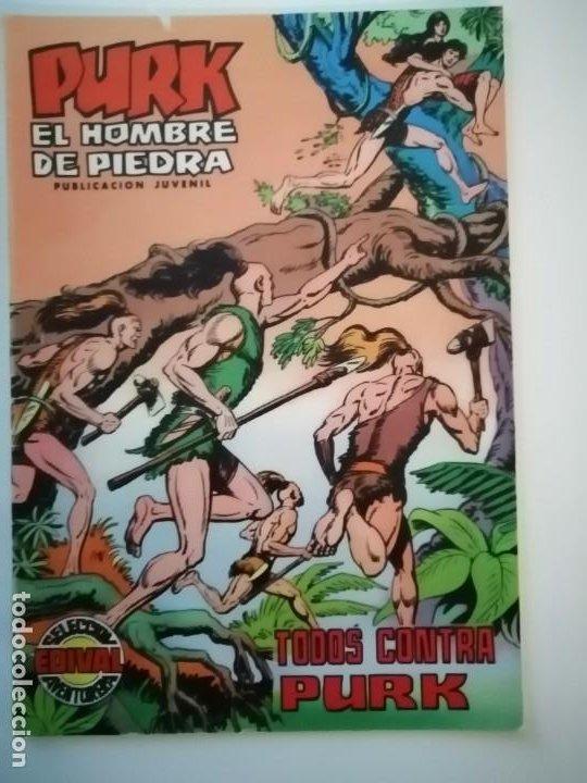 Tebeos: Lote 26 comics Purk el hombre de piedra.N° 2-5-8-10-12-13-15-16-24-29-30-35-44-47-55-59,del 61 al 70 - Foto 19 - 231958380