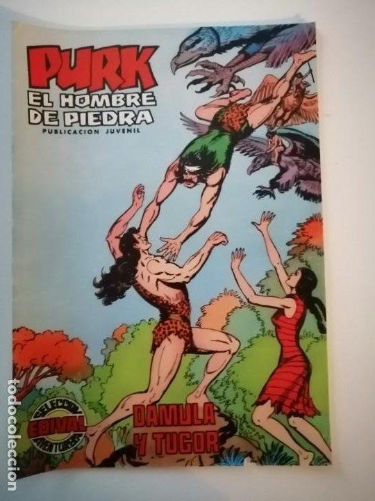 Tebeos: Lote 26 comics Purk el hombre de piedra.N° 2-5-8-10-12-13-15-16-24-29-30-35-44-47-55-59,del 61 al 70 - Foto 21 - 231958380