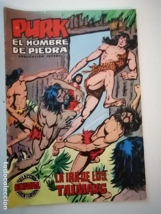 Tebeos: Lote 26 comics Purk el hombre de piedra.N° 2-5-8-10-12-13-15-16-24-29-30-35-44-47-55-59,del 61 al 70 - Foto 23 - 231958380