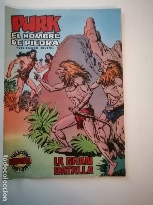 Tebeos: Lote 26 comics Purk el hombre de piedra.N° 2-5-8-10-12-13-15-16-24-29-30-35-44-47-55-59,del 61 al 70 - Foto 25 - 231958380