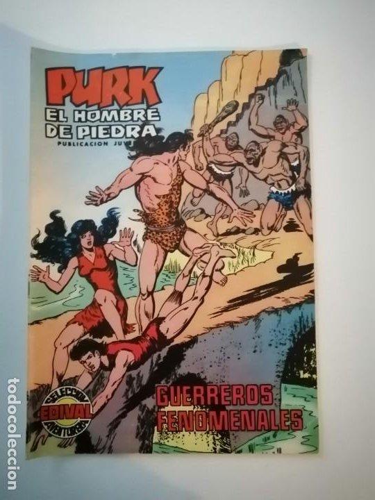 Tebeos: Lote 26 comics Purk el hombre de piedra.N° 2-5-8-10-12-13-15-16-24-29-30-35-44-47-55-59,del 61 al 70 - Foto 29 - 231958380