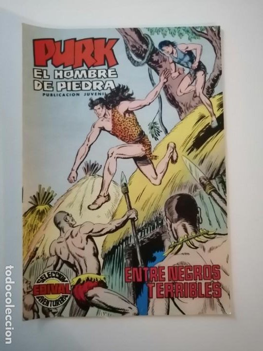 Tebeos: Lote 26 comics Purk el hombre de piedra.N° 2-5-8-10-12-13-15-16-24-29-30-35-44-47-55-59,del 61 al 70 - Foto 33 - 231958380