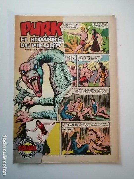 Tebeos: Lote 26 comics Purk el hombre de piedra.N° 2-5-8-10-12-13-15-16-24-29-30-35-44-47-55-59,del 61 al 70 - Foto 39 - 231958380
