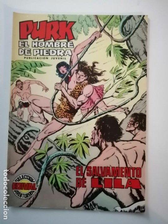 Tebeos: Lote 26 comics Purk el hombre de piedra.N° 2-5-8-10-12-13-15-16-24-29-30-35-44-47-55-59,del 61 al 70 - Foto 41 - 231958380