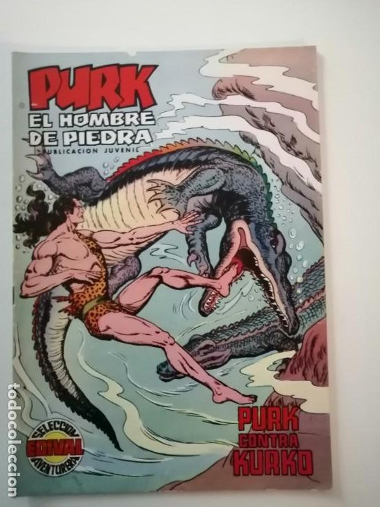 Tebeos: Lote 26 comics Purk el hombre de piedra.N° 2-5-8-10-12-13-15-16-24-29-30-35-44-47-55-59,del 61 al 70 - Foto 45 - 231958380