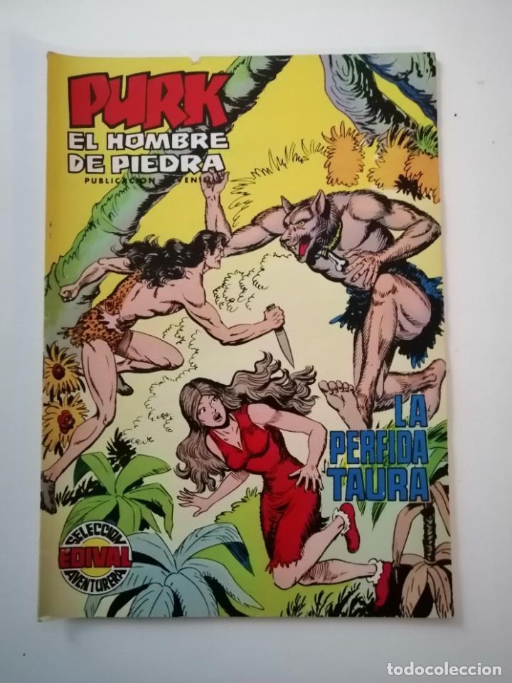Tebeos: Lote 26 comics Purk el hombre de piedra.N° 2-5-8-10-12-13-15-16-24-29-30-35-44-47-55-59,del 61 al 70 - Foto 47 - 231958380