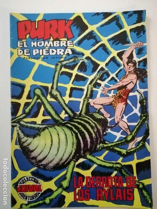 Tebeos: Lote 26 comics Purk el hombre de piedra.N° 2-5-8-10-12-13-15-16-24-29-30-35-44-47-55-59,del 61 al 70 - Foto 49 - 231958380