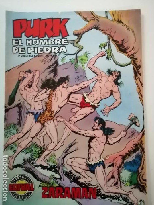 Tebeos: Lote 26 comics Purk el hombre de piedra.N° 2-5-8-10-12-13-15-16-24-29-30-35-44-47-55-59,del 61 al 70 - Foto 51 - 231958380