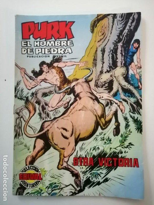 Tebeos: Lote 26 comics Purk el hombre de piedra.N° 2-5-8-10-12-13-15-16-24-29-30-35-44-47-55-59,del 61 al 70 - Foto 53 - 231958380